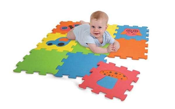 Puzzlematten, 9-teilig