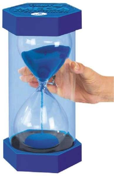 Giga Sanduhr 15 Minuten - blau
