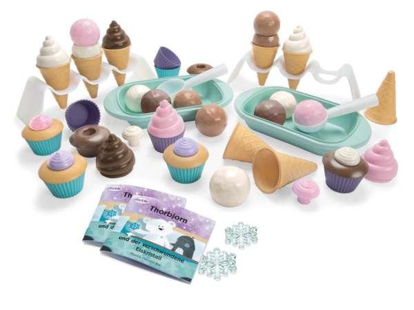 Eis-Set Kindergarten - Spielförmchen, 56 Teile, 100 % recyclebar - KiTa-Spielewelt