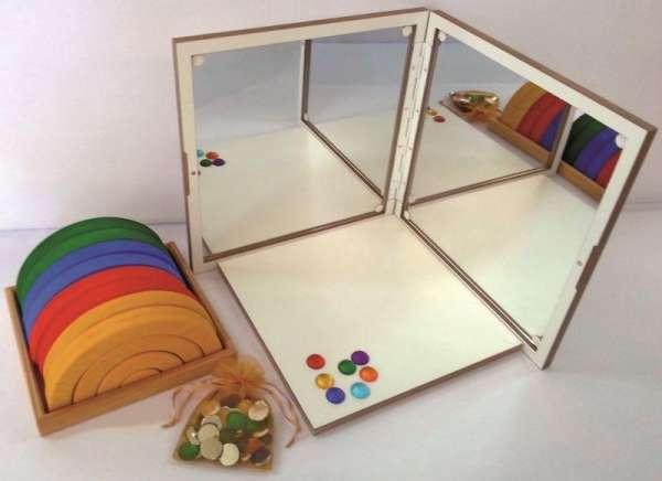 Spiegelkoffer - Set
