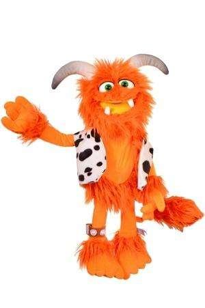 "Living Puppets ""Little Joe"" das kleine orangene Monster"