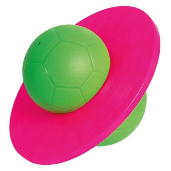 TOGU Hüpfball Moonhopper grün/pink