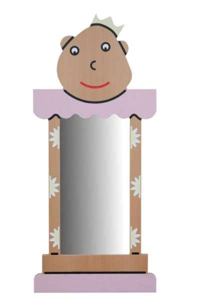 Kinderspiegel - Spiegelkönigin rosa