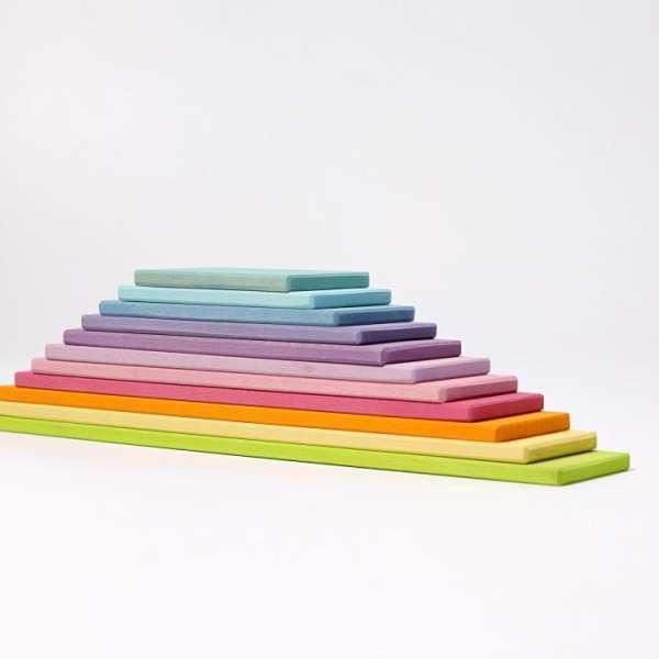 Bauplatten pastell