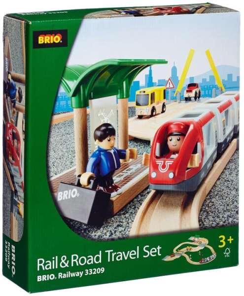Brio Straßen und Reisezug