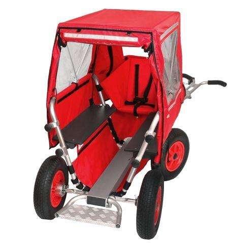 Verdeck für Krippen-Bollerwagen 4- und 6 Sitzer