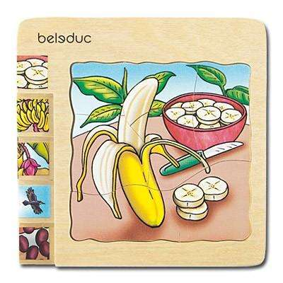 Lagenpuzzle Banane