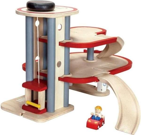 Parkhaus von Plan Toys