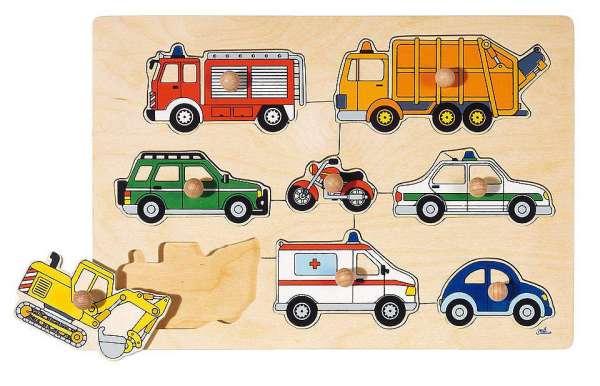 Greif-Puzzle Fahrzeuge