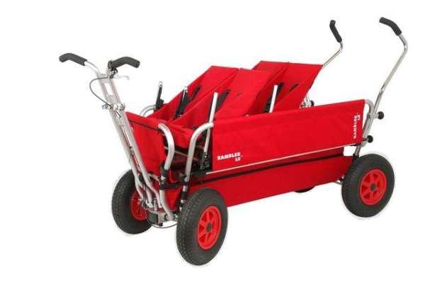 Duo-Babysitze für Krippen-Bollerwagen für 4-Sitzer