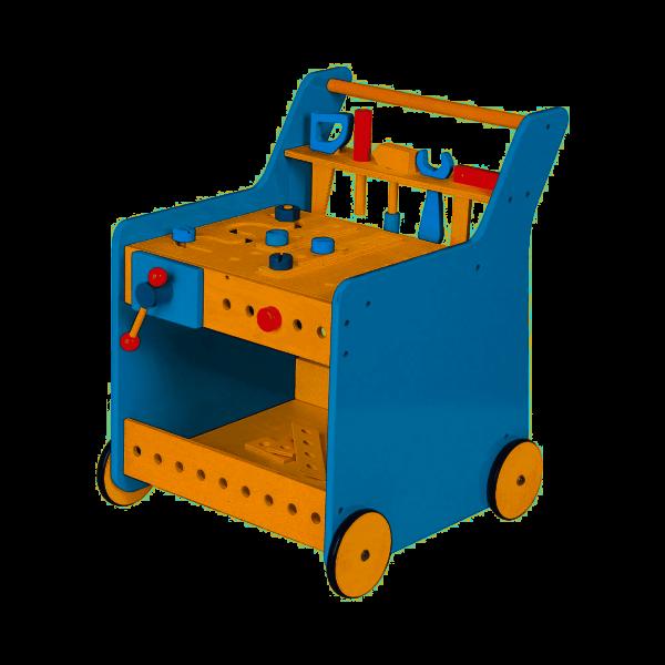 Werkzeugwagen Kalle blau