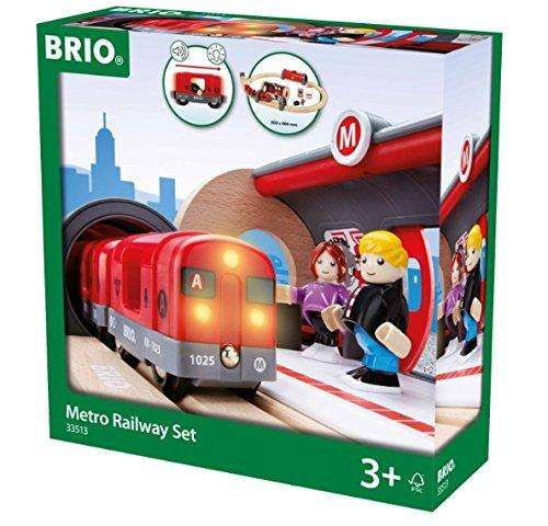 Brio Metro Bahn Set