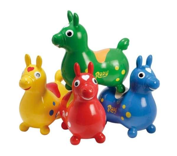 Hüpftier - Hüpfpferd RODY in vier Farben