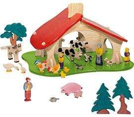 Bauernhof Tiere 10-teilig