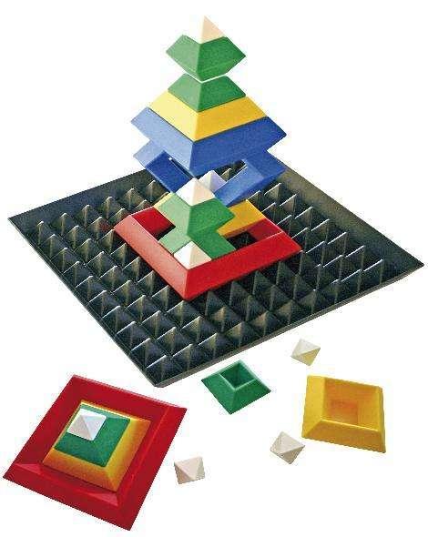 Triangle Puzzle mit Bauplatte