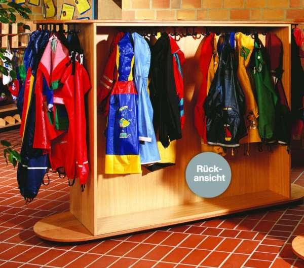 Garderobenwagen für 25 Kinder