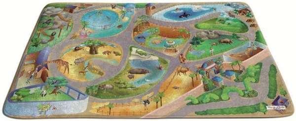 Spielteppich Zoo