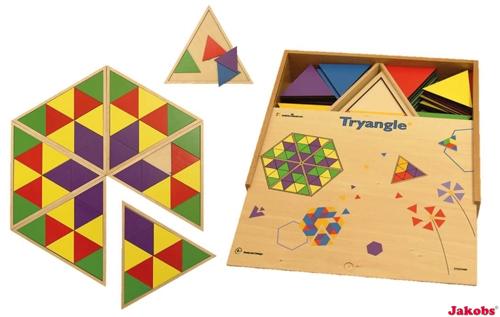 Riesen-Legespiel Dreiecke