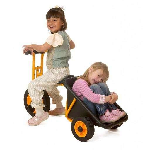 Rabo Transporter - Kinderfahrzeug für Kinder von 3 - 8 Jahren