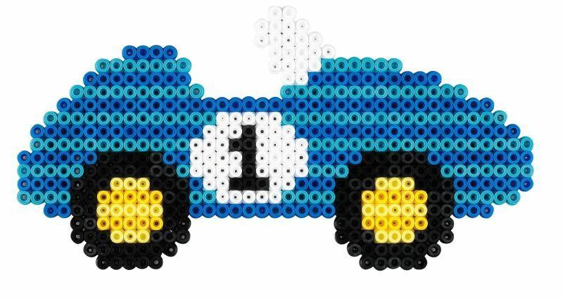 Hama Bugelperlen Midi Small World Auto Geschenkpackung