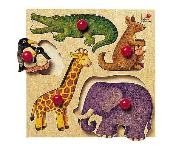 Selecta Greif-Puzzle Zoo Bild 1