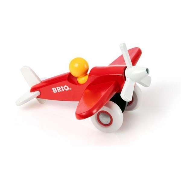 Flugzeug - Schiebefahrzeug von Brio