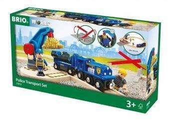 Brio Polizei Goldtransport Set