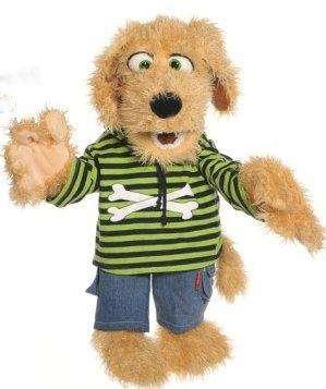 Living Puppets Handpuppe Hund Bosse 65 cm