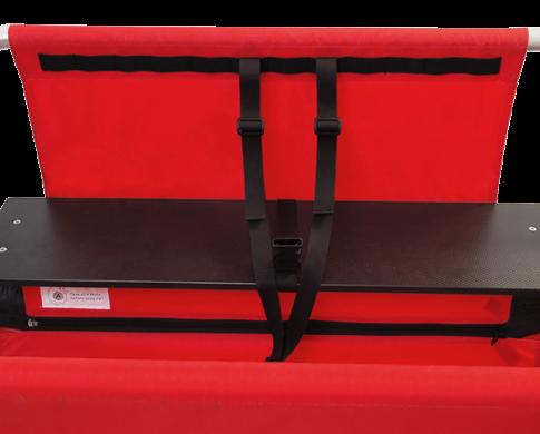 Sicherheitsgurte für Krippen-Bollerwagen für 4-,6- und 10-Sitzer