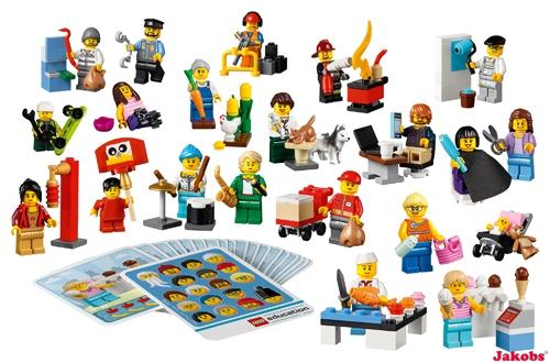 Lego Leute und Berufe Minifiguren