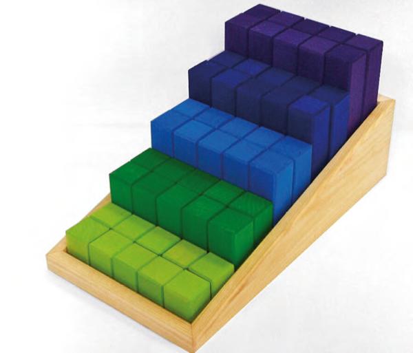 Bausteine - Spieltreppe