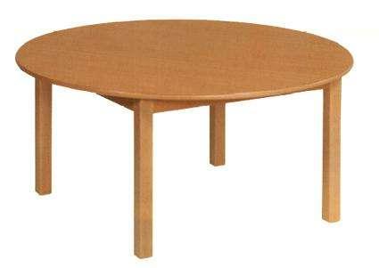 Tisch rund Ø 100 cm in den Tischhöhen 42 - 76 cm