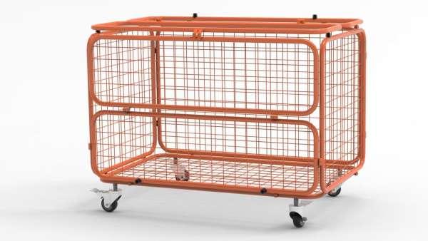 Transportwagen - Ballwagen orange