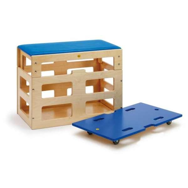 Sportbox mit Aufsatz von Erzi