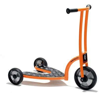 Jakobs Safety Roller aktiv für Kinder von 3 - 7 Jahren, links