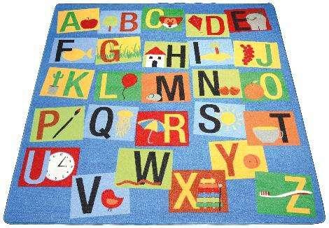 Spielteppich Buchstaben