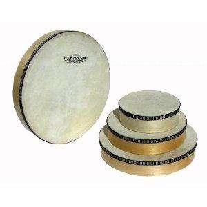 Tamburin 25 cm mit Schlägel