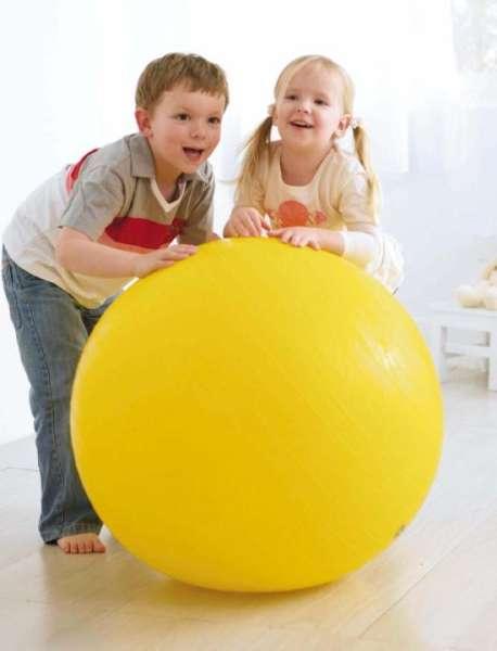 Gymnastikball, 85 cm gelb