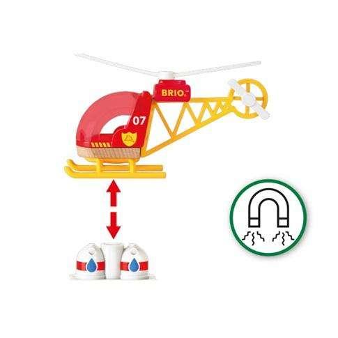 Brio Feuerwehr Hubschrauber