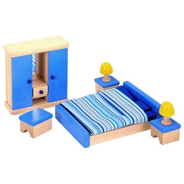 Schlafzimmer fürs Puppenhaus von Pintoy
