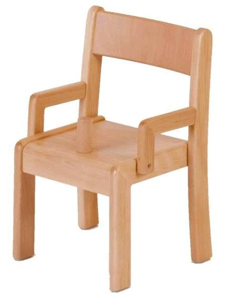 Armlehnstuhl mit Sitzknopf