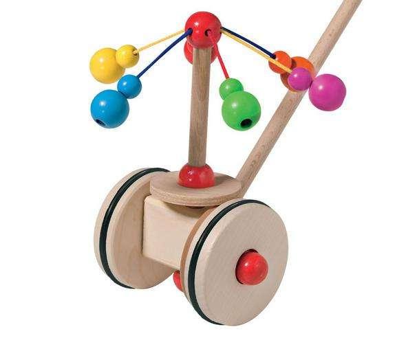 Schiebespielzeug Schiebestab Karusell von Selecta