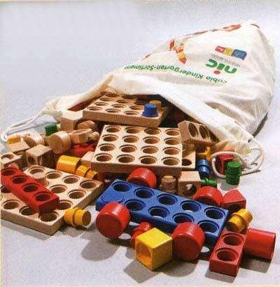 Cubio Steckbausteine im Kindergartensortiment