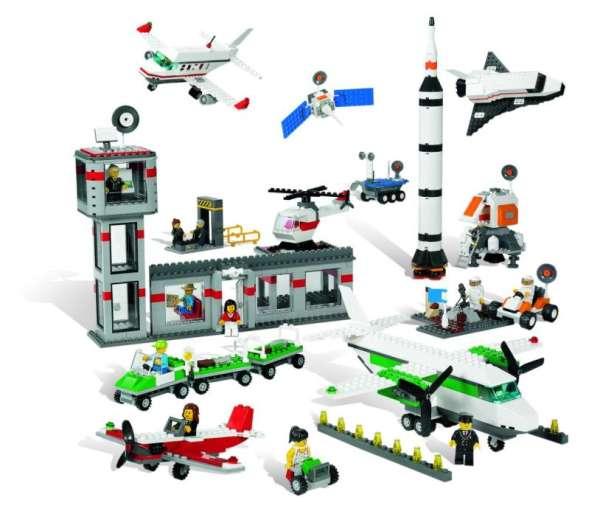 LEGO Weltraum und Flughafen Set 1176 Teile
