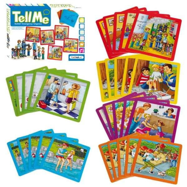 """Geschichtenkarten """"Tell me"""" von Beleduc - """"Notfall"""""""