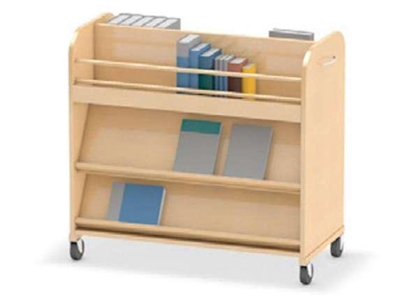 Bücherwagen Wendebibliothek