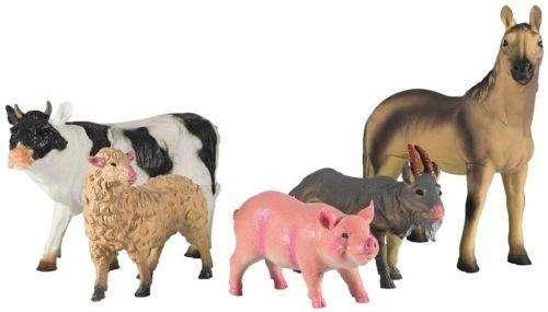 Bauernhof Tiere Set