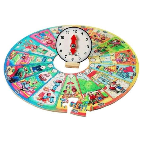 """""""Mein Tag"""" - Lernpuzzle XXL"""