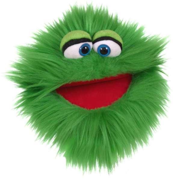Living Puppets Handpuppe Plappermaul grün