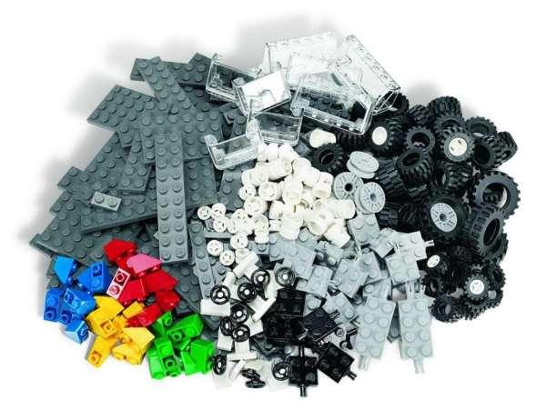 LEGO Räder Set 286 Teile